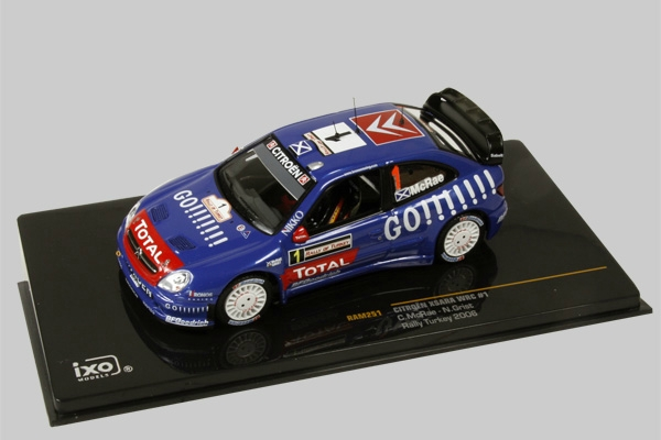 1:43 CITROEN XSARA WRC RALLY TURKEY,FINLAND,GREECE 2006 MCRAE,TUOHINO,..