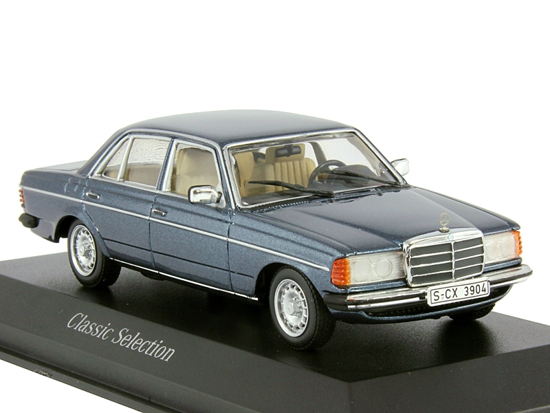 1 43 mercedes benz 230 e w123 lapis blue for Mercedes benz blue window tint
