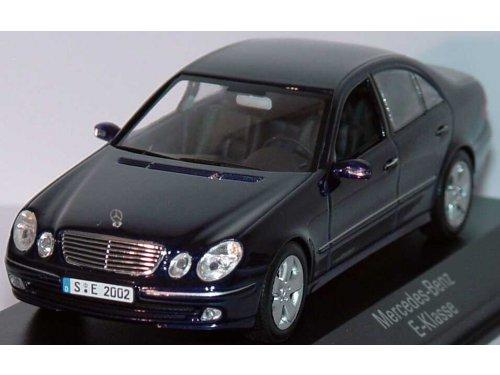 1 43 mercedes benz e class w211 tanzanite blue for Miniature mercedes benz models