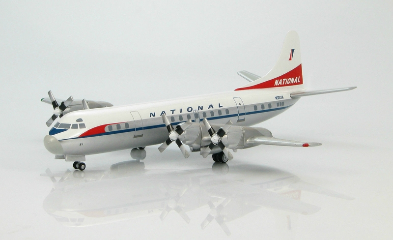 1:200 Lockheed L-188 Electra N5001K National Airlines Final