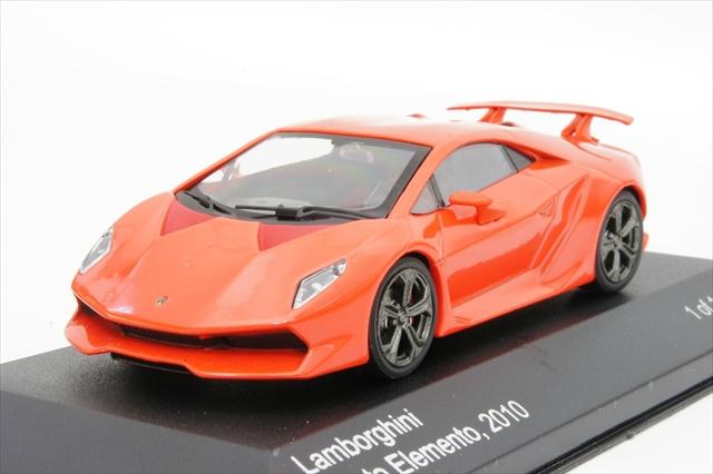 143 Lamborghini Sesto Elemento, red