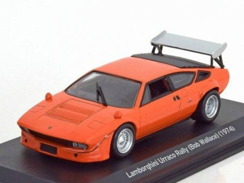 1 43 Lamborghini Urraco Rally Bob Wallace Orange