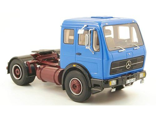 1 43 mercedes benz ng 73 tractor truck blue. Black Bedroom Furniture Sets. Home Design Ideas