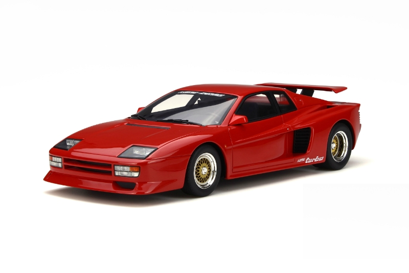 1:18 Koenig Specials Tuning Testarossa Twin Turbo Rosso