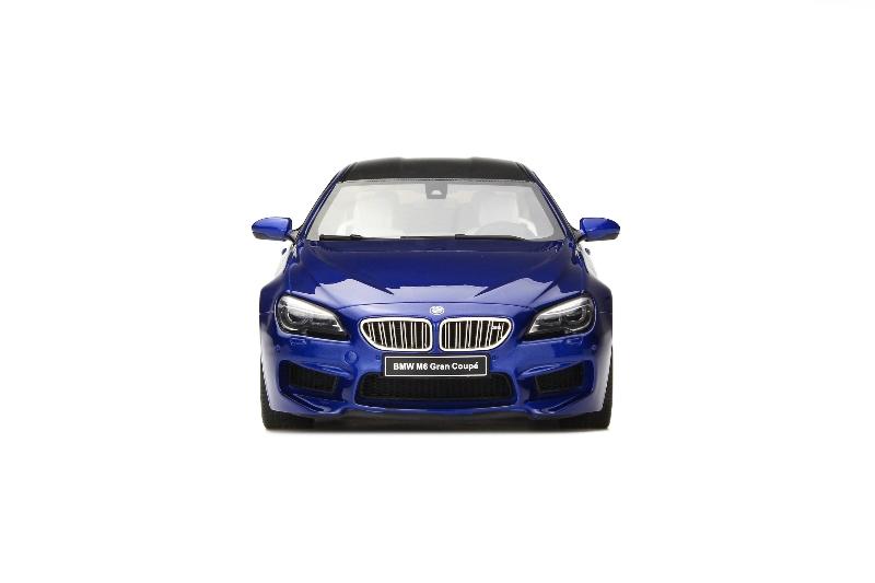 BMW M6 Gran Coupe F06 San Marino Blue Metallic 2015 Scale Model