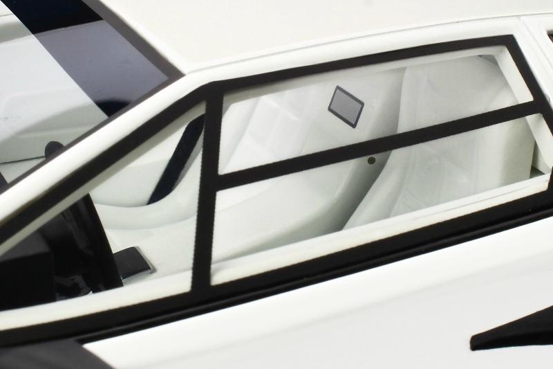 1 18 Lamborghini Countach Lp 5000 Qv Bianco Polo White 1985