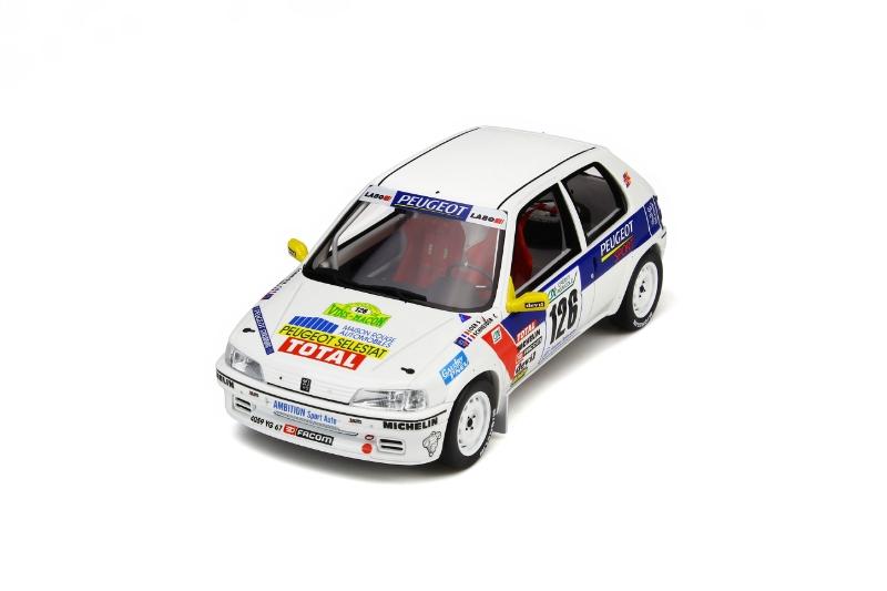 Peugeot 106 Rallye Gruppe N Phase I 1997 Sebastian Loeb Nr 282 1//18 Otto Modell