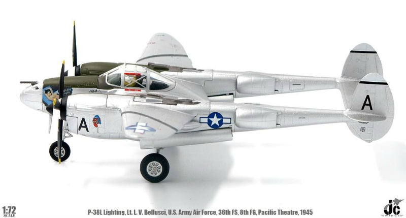 Easy Model 1//72 P-38L Lightning Pacific Prowler USAAF 18th FG 44th FS