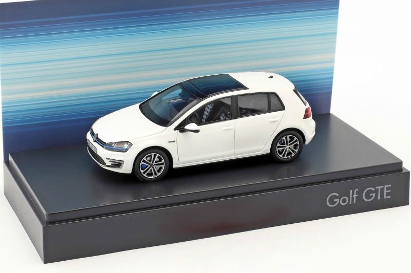 1 43 volkswagen vw golf vii gte white. Black Bedroom Furniture Sets. Home Design Ideas