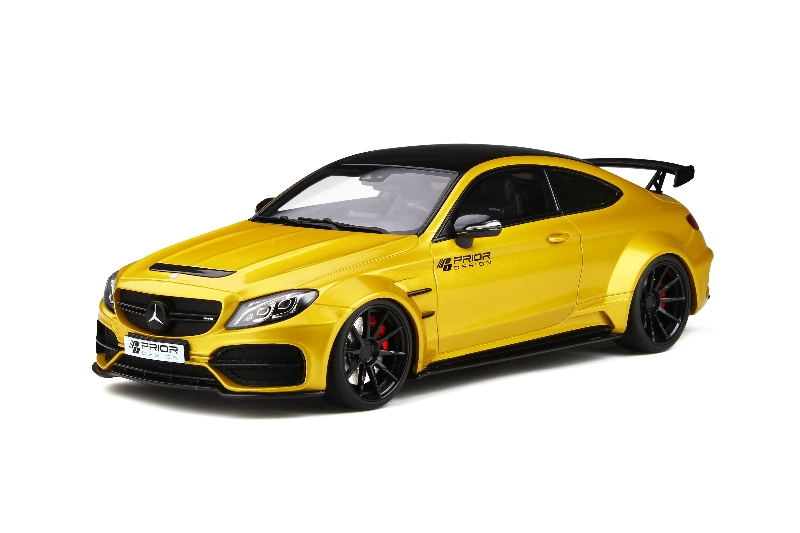1:18 PD65CC Mercedes-Benz AMG C63 W205 Coupe modified by