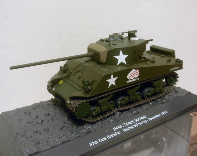 TK7Z Altaya Ixo 1//43 Tanks WW2:M4 Sherman Deutschland 1945
