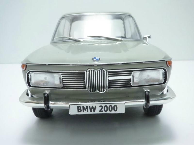 1:18 microg bmw 2000 1966 lightgrey