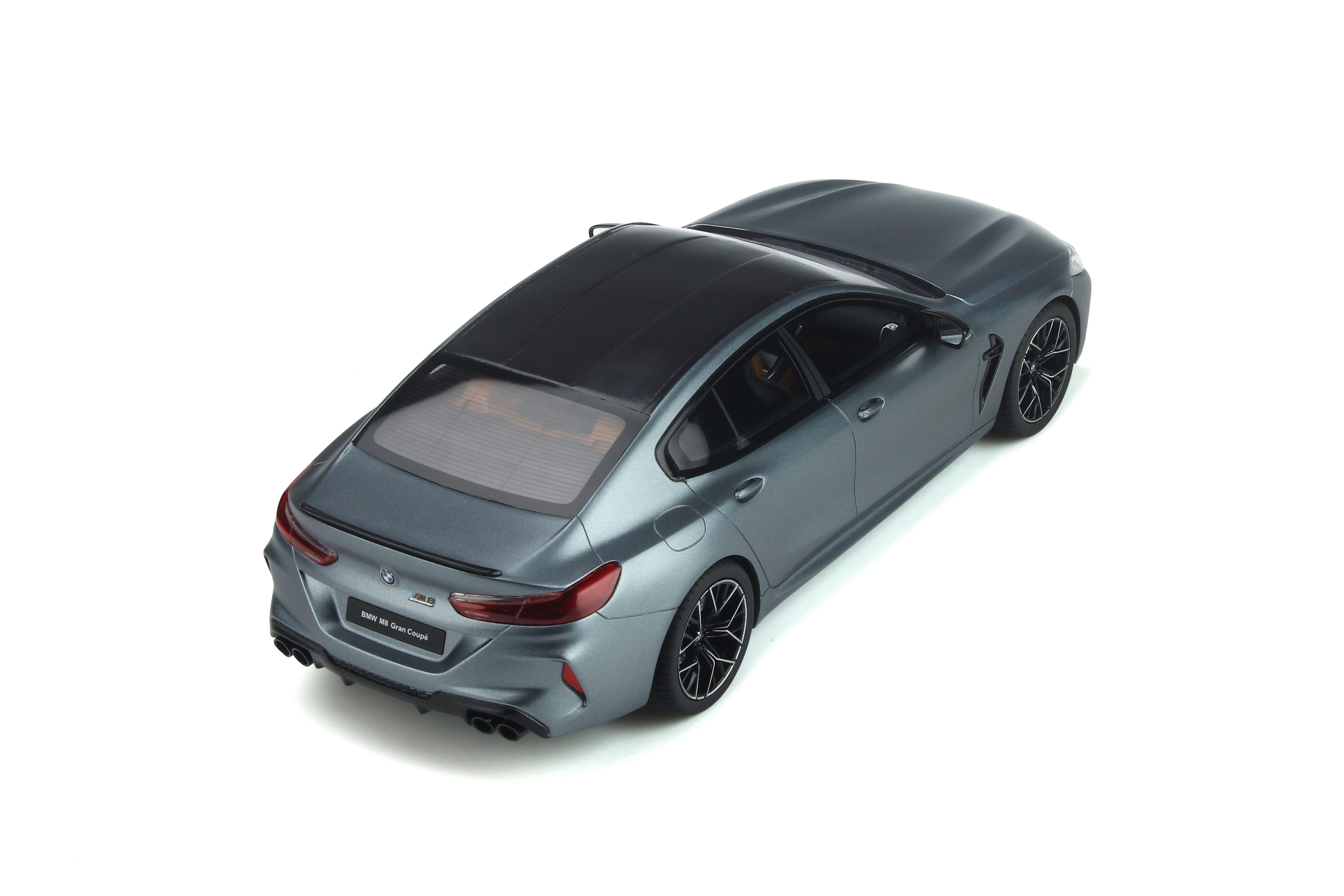 1 18 Bmw M8 Gran Coupe Competition Package Frozen Bluestone Metallic 2020