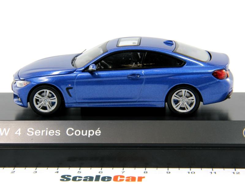 Estoril Blue. BMW 1:43 F32 4 Series Coupe