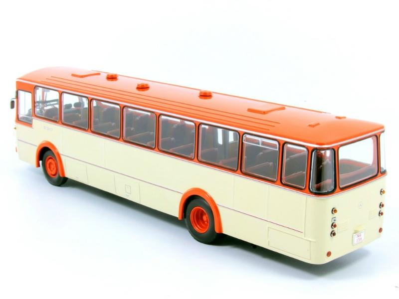 1 43 mercedes benz o 317 k bus for Miniature mercedes benz models