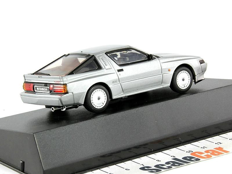 Mitsubishi Starion 2000 Turbo Ex 1988 Coupe Silber 1//43 Dism Modellauto Modell A