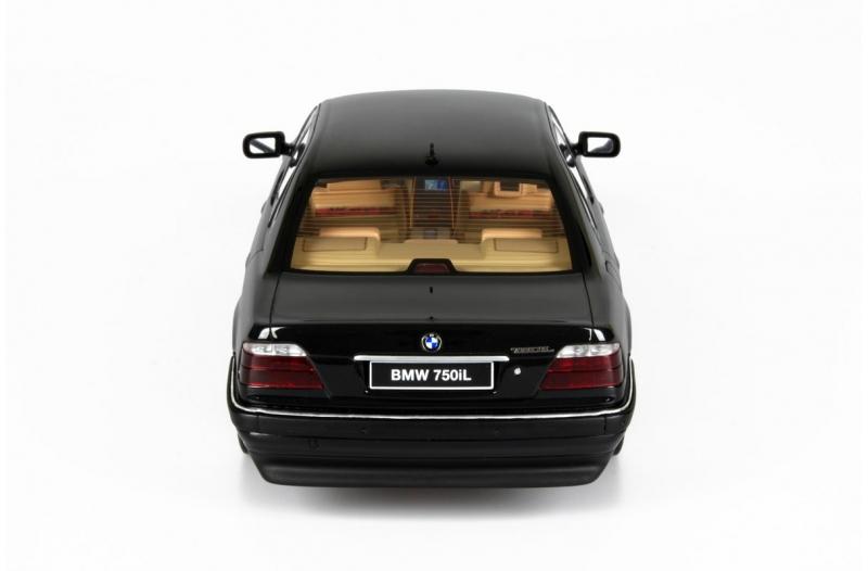 1 18 bmw 7 series 750il e38 v12 limousine black metallic. Black Bedroom Furniture Sets. Home Design Ideas