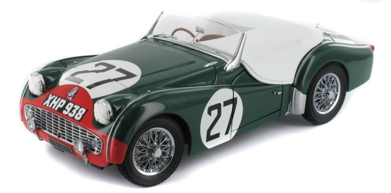 TRIUMPH TR3S Le Mans 1959  #25  Kyosho  Maßstab 1:18  OVP  NEU