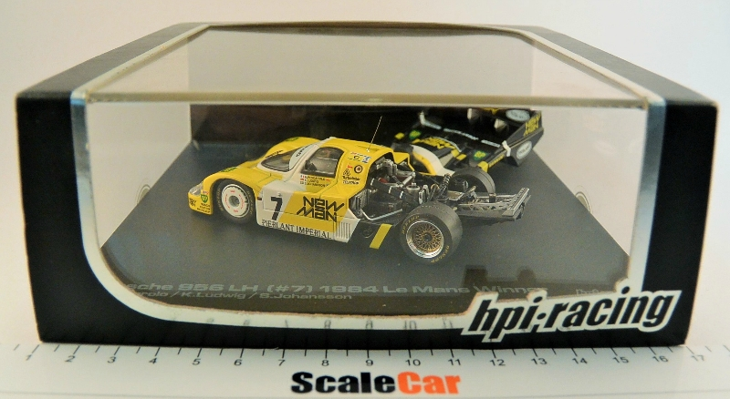Le Mans Cars Collection 24 Hour Race Porsche 956 1984 Hachette Magazine Model