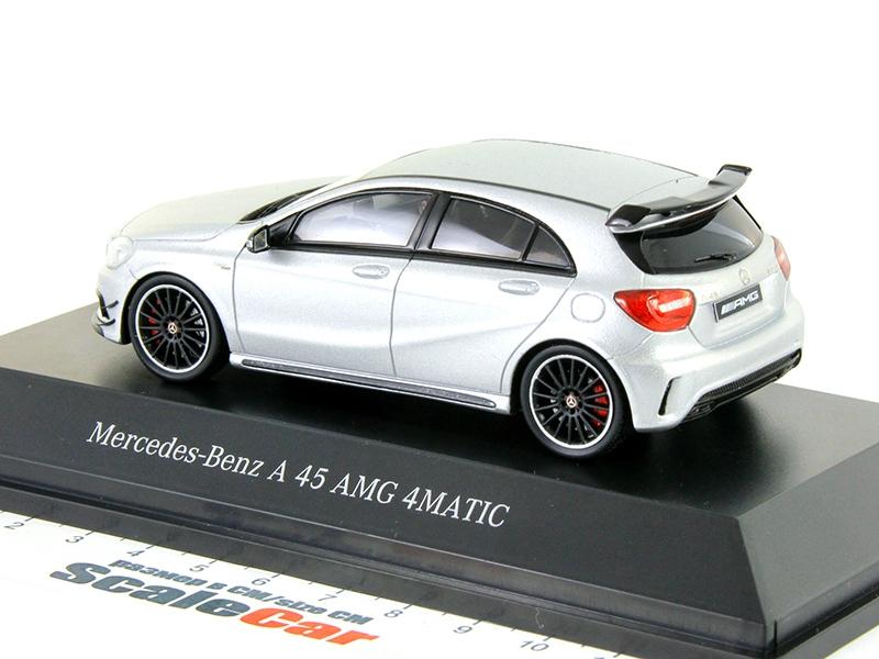 1 43 mercedes benz a45 amg for Miniature mercedes benz models