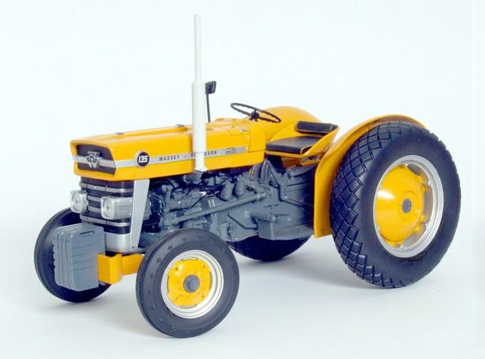 1964 Massey Ferguson 135 : Massey ferguson industrial tractor usa yellow