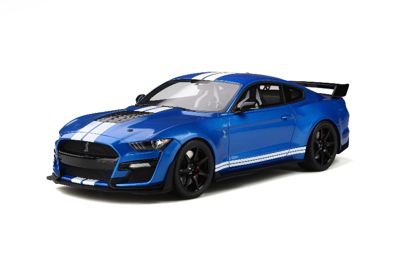 1:18 Ford Mustang Shelby GT500 Supercharged Velocity Blue ...